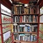 Cabine telefônica vira biblioteca no sul da Inglaterra