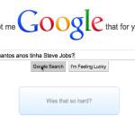 Permita-me usar o Google pra você